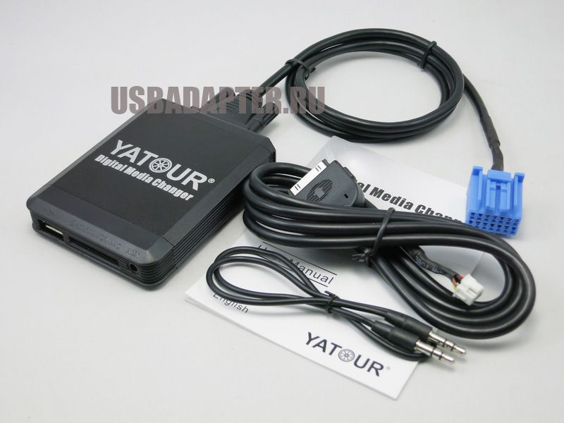 MP3 USB iPhone/iPod адаптер YATOUR  YT-M07 HONDA Blue