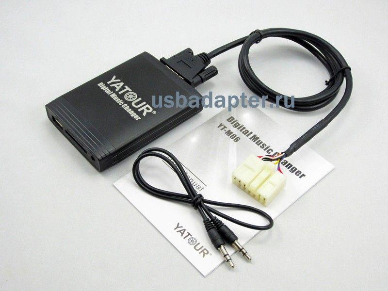 MP3 USB адаптер TOYOTA YATOUR  7+5 YT-M06